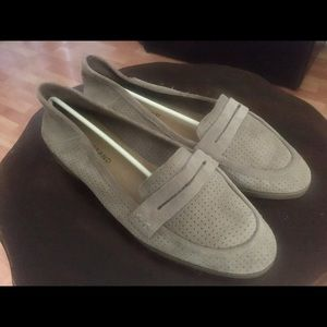 Lucky Brand Suade Loafers